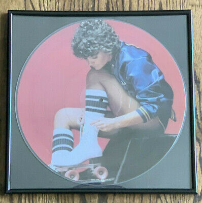 Framed Linda Ronstadt Livin' in the USA Picture Disc Vinyl Record Album