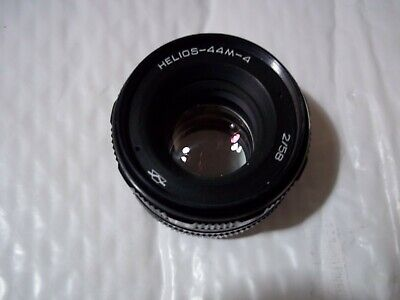 Helios-44-4 58mm f2 prime lens M42 mount , Great Bokeh lens in v good condition