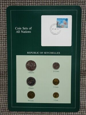 Franklin Mint Coin Sets Of All Nations 1983 Republic Of Seychelles