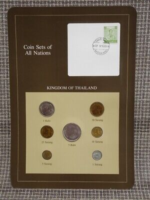 Franklin Mint Coin Sets Of All Nations  Kingdom Of Thailand