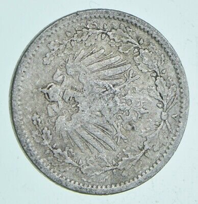 SILVER Roughly the Size of a Dime 1906 Germany 1/2 Mark World Silver Coin *508