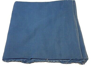 Vintage Full Feedsack: Solid Color Blue