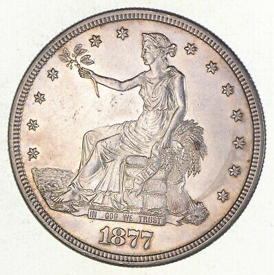 1877-S Seated Liberty Silver Trade Dollar *2709