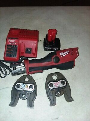 Milwaukee 2473-20 M12 Force Logic Press Tool Kit with 2jaws