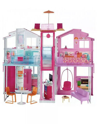 Barbie 3 Story Townhouse DLY32 New/ Open Box