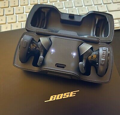 Bose SoundSport Free 774373-0010 True Wireless Earbuds BLACK ~ NEW IN OPEN BOX