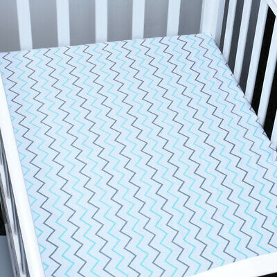 Hypoallergenic Bed Sheet Fitted Sheet Boys And Girls Soft Microfiber Simple Crib