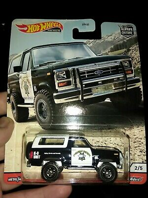 '85 Ford Bronco * 2020 Hot Wheels WILD TERRAIN Car Culture Case Q * IN STOCK