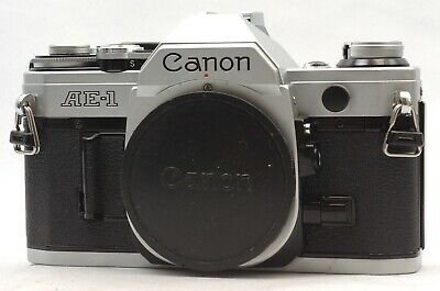 @ Ship in 24 Hours! @ Excellent! @ Canon AE-1 Chrome 35mm Film SLR Camera Body