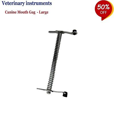 VETERINARY INSTRUMENT Canine Mouth Gag Cat & Dog Mouth Opener Oral Surgery Tools