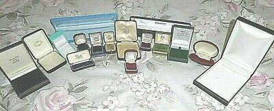 Large Assortment Of Jewellery  Box's  Some 1930'S/ 1940'S
