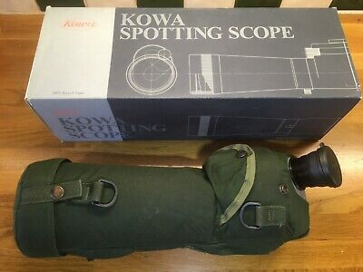 Kowa TSN 823 spotting scope with Skua cover & 21x wide eyepiece