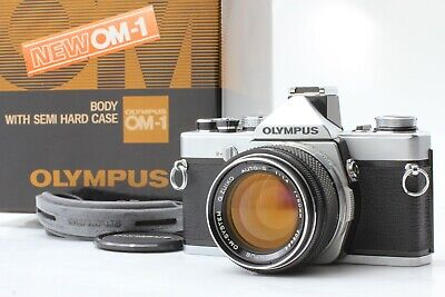 *Excellent+5* Olympus OM-1 Camera w/ G Zuiko Auto-S 50mm f/1.4 Lens from JAPAN
