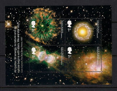 GB 2002 Commemorative Stamps~Astronomy~ M/S~Unmounted Mint Set~UK