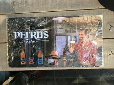Petrus tradition reclame bartowel beer sign new in blister