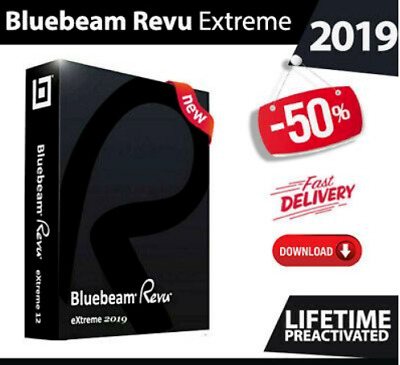 Bluebeam Revu eXtreme 2019 | Full Version | For Windows | INSTANT DELIVERY 🔥