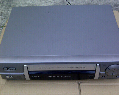 lg bd200l VCR Video Recorder Silver working
