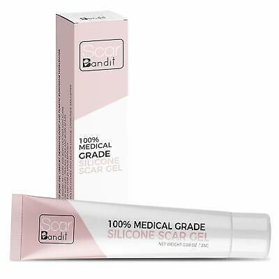 Scar Bandit Advanced Medical-Grade Silicone Gel For Face, Body, Stretch Marks,