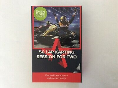 £49 Activity Superstore 50 Lap Karting Session for Two (Expiry 01/12/2020)