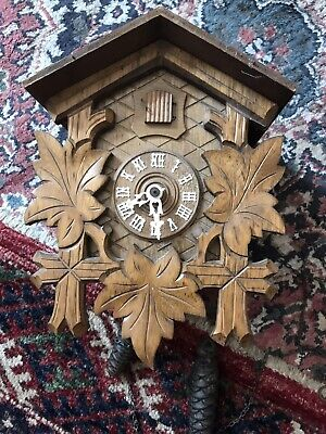 Cuckoo Clock -Black Forest - Not fully working