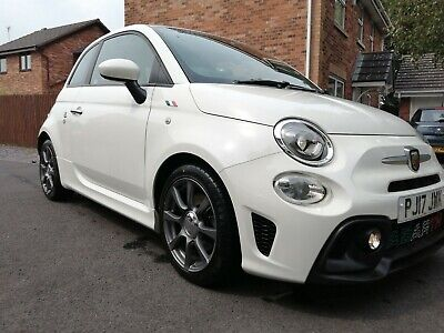 Abarth 595 500 T-Jet 145 Fiat White Choice Of Alloys Stainless Exhaust