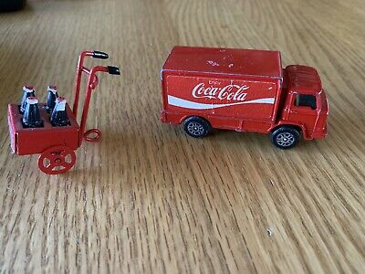 Coca Cola Truck With Dolly