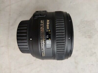 Nikon NIKKOR 50mm 1.4G used (great condition)