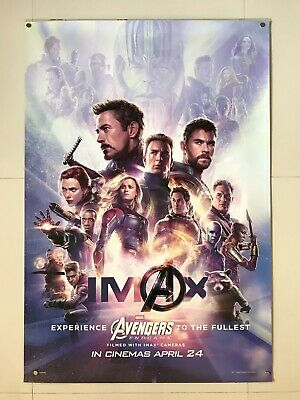 *Ultra Rare* Avengers End Game | original DS one sheet movie poster 27x40 IMAX
