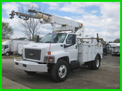 2004 CHEVROLET C7500 CAT ALLISON WITH ALTEC AP45A CABLE PLACER Used ALTEC AP45