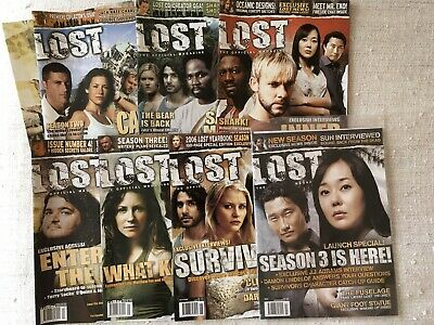 Lost Magazines - Issues 1 - 7