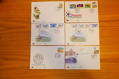 IRELAND 5 FDC's FROM 2000 + 1 FROM 2004