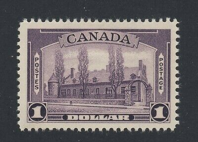 Canada Stamp #245-$1.00 Chateau MH VF Guide Value = $100.00