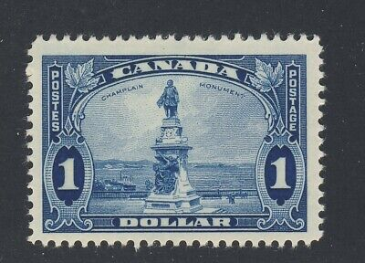Canada  Stamp #227-$1.00 Champlain Monument MH VF Guide Value = $80.00