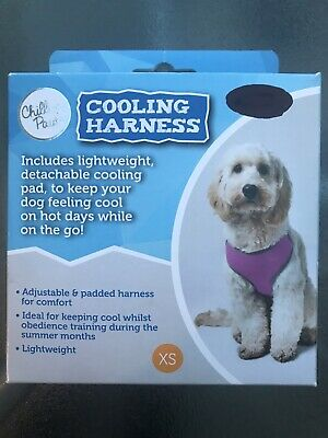 XS Girl Dog Cooling Harness - Purple Brand New Dig Accessories