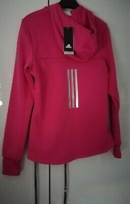 Girls Brand New Pink Adidas Jacket Age 14-15