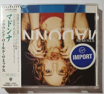 Madonna Drowned World Substitute for Love Remixes Japan CD w/OBI WPCR-1983