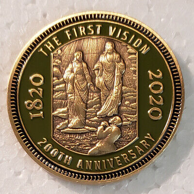 First vision Coin 200th Anniversary LDS Joseph Smith