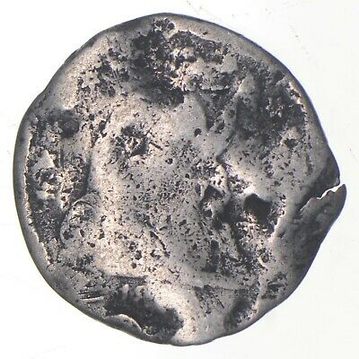 5c *1/2 Dime HALF* Worn Date Seated Liberty Half Dime Early American Coin *216
