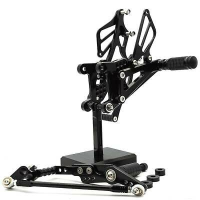 Motorcycle CNC Rearsets Footpeg Adjustable For Yamaha YZF R1 2007-2008