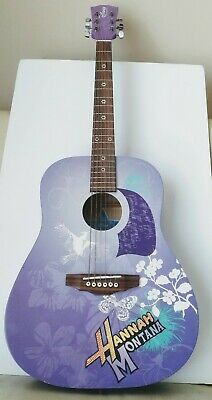 Washburn Hannah Montana Acoustic Guitar 3/4 size. Great Condition.