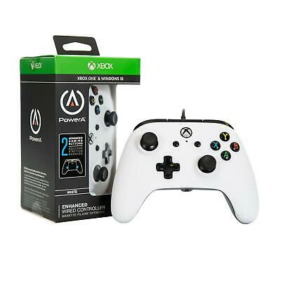 PowerA Enhanced Wired Controller | For Xbox One White