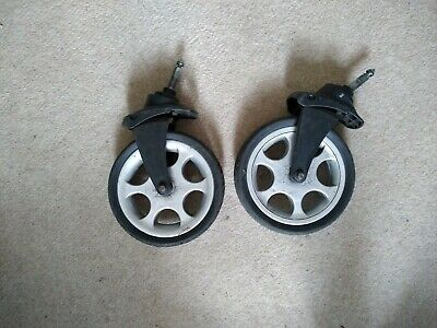 Mamas and papas sola front wheels, well used