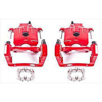 Power Stop Performance Powder Coated Calipers with Brackets - S4804