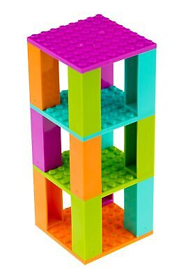 Classic Bricks and Baseplates Teeny Tower | 100% Compatible with All Major Br...