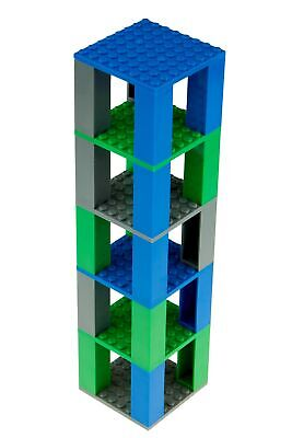 Classic Bricks & Baseplates Tiny Tower | 100% Compatible with All Major Brand...