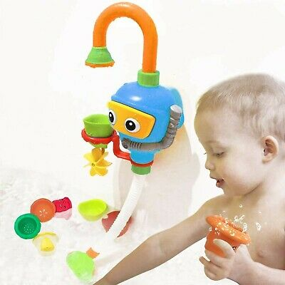 Toddlers Bathtub Water Game Toy - 3 Stackable and Nesting Cups,Submarines and...