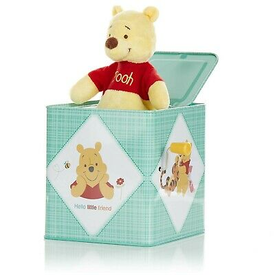 KIDS PREFERRED Disney Baby Winnie The Pooh Jack-in-The-Box - Musical Toy for ...