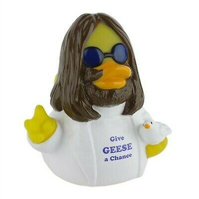 CelebriDucks Give Geese A Chance RUBBER DUCK Costume Quacker Bath Toy