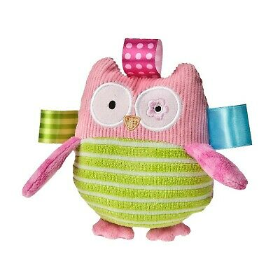 Mary Meyer Taggies Oodles Owl Plush Rattle Baby Rattle