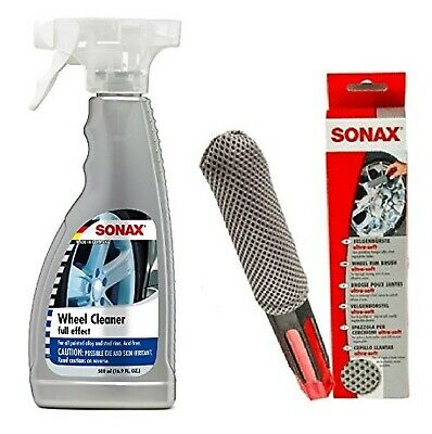 Sonax Wheel Cleaner (230200)- 500ML with Sonax Wheel Cleaning sponge (417541)